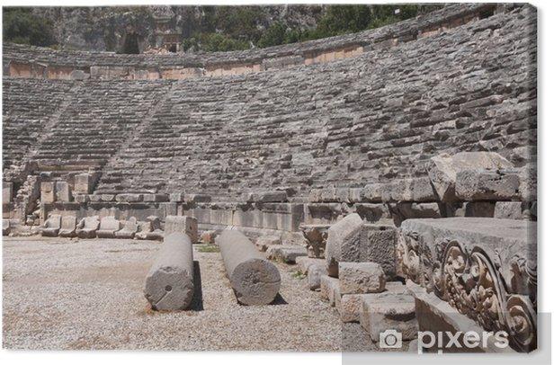 Tableau sur toile Amphithéâtre antique de Myra (Turquie) - Europe