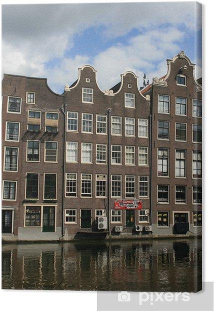 Tableau sur toile Amsterdamie - Paysages urbains