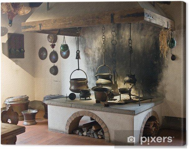 Tableau sur toile Ancienne cuisine • Pixers® - Nous vivons pour changer