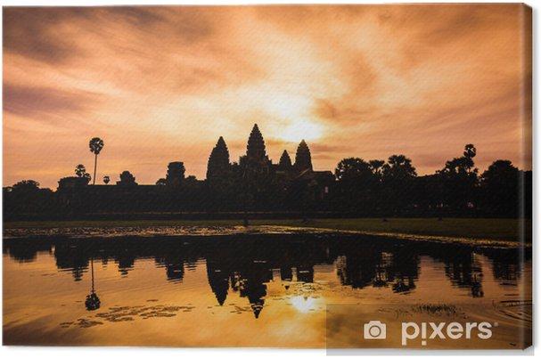 Tableau sur toile Angkor wat - Asie
