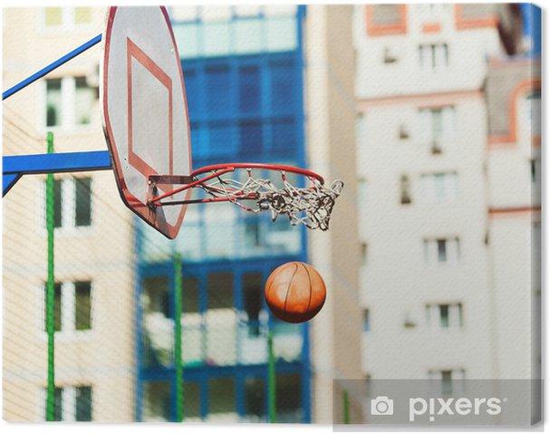 8a6d43a8169ee Tableau sur toile Anneau de basket-ball • Pixers® - Nous vivons pour ...