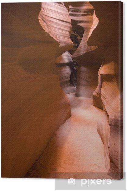 Tableau sur toile Antelope Canyon, dans l'Utah - Amérique