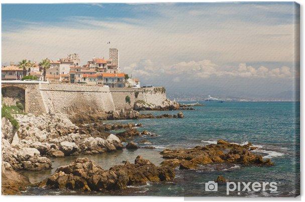 """Tableau sur toile Antibes sur la Côte d """"Azur - Europe"""