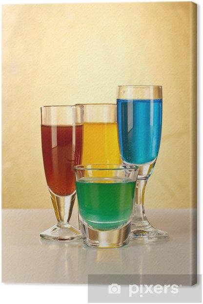 Tableau sur toile Apéritif avec alcool - Alcool