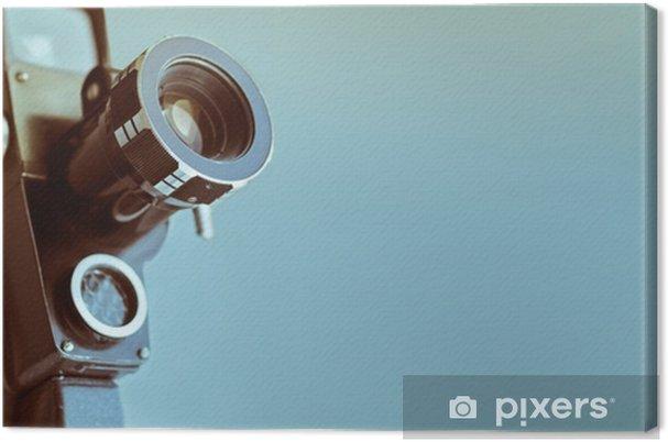 Tableau sur toile Appareil photo vintage avec espace de copie - Passe-temps et loisirs