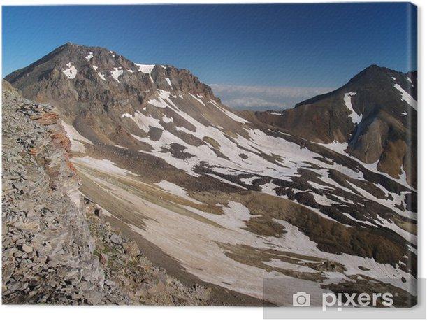 Tableau sur toile Aragats crête du volcan, l'Arménie - Montagne