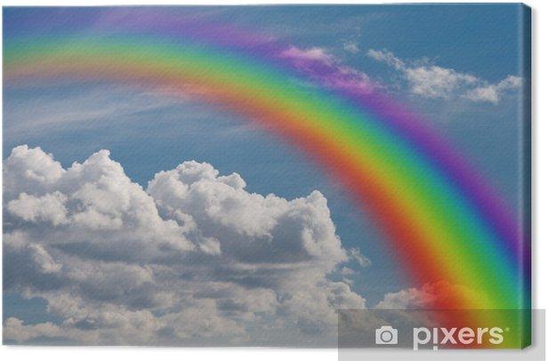 Tableau sur toile Arc en ciel dans les nuages - Les arcs-en-ciel