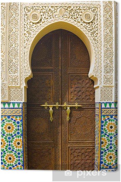 Tableau sur toile Architecture marocaine - Thèmes