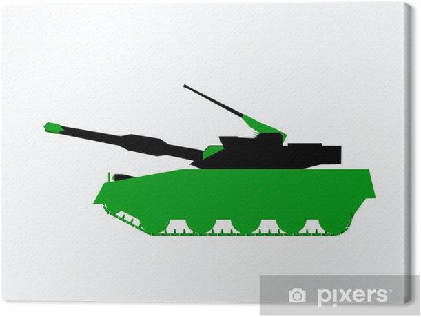 Tableau sur toile Army Tank - Violence et criminalité