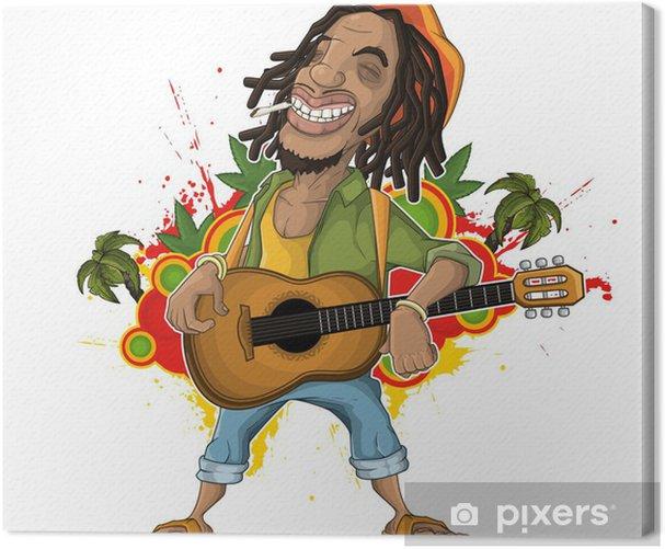 Tableau sur toile Artiste Reggae - Maisons et jardins