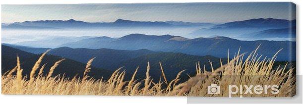Tableau sur toile Automne en montagne - Destin