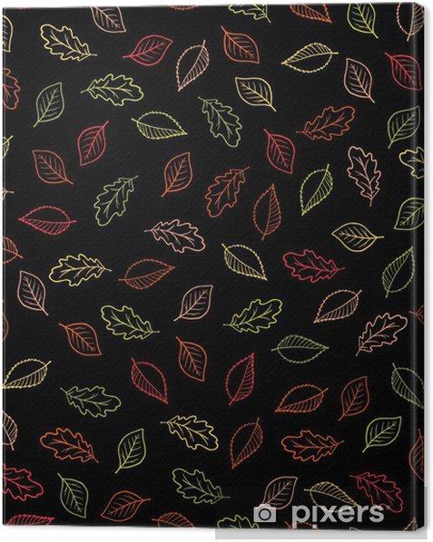 Tableau sur toile Autumn Background - Saisons