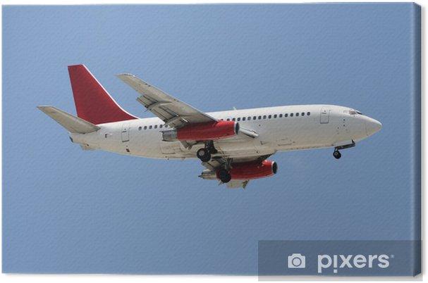 Tableau sur toile Avion avion de ligne - Dans les airs