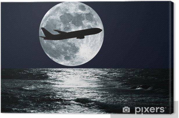 Tableau sur toile Avion de passagers - Thèmes