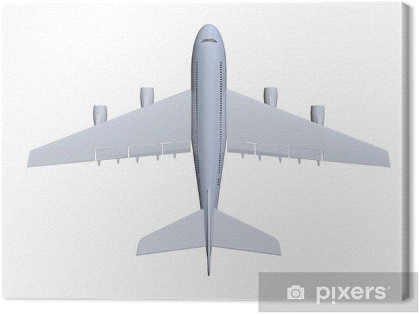 Tableau sur toile Avion - Dans les airs