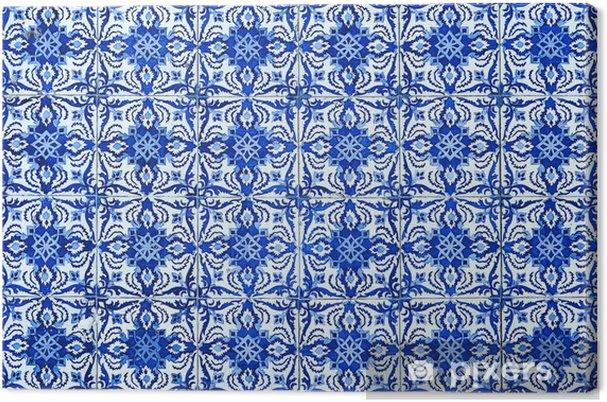 Tableau sur toile Azulejos, carreaux traditionnels portugais - Thèmes