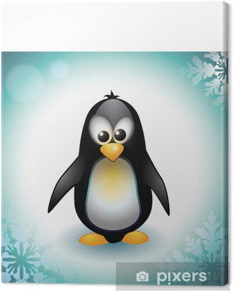 Tableau sur toile Baby Penguin - Oiseaux