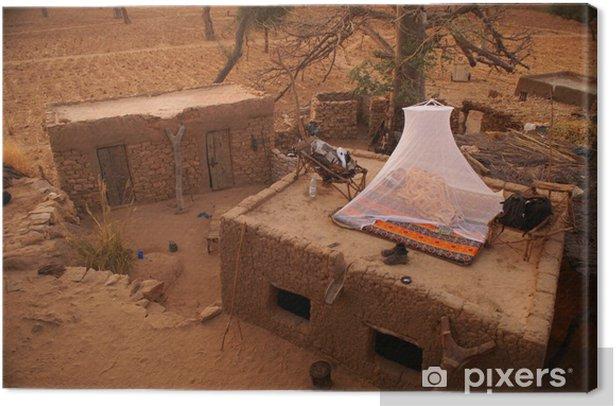 Tableau sur toile Backpacker-hôtel - Afrique