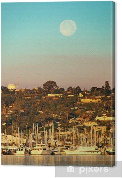 Tableau sur toile Baie de San Diego - Autres