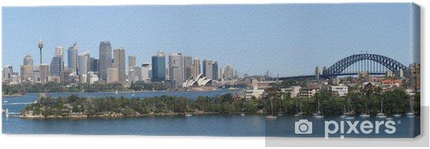 Tableau sur toile Baie de sydney - australie - - Thèmes