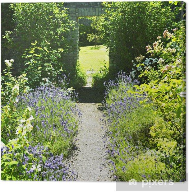 Tableau sur toile Ballinlough Castle Gardens, Comté de Westmeath, Irlande - Europe