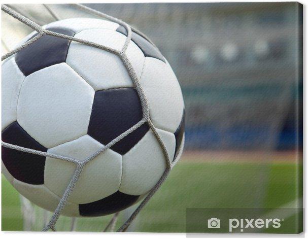 Tableau sur toile Ballon de football -