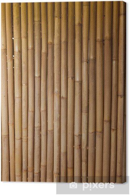 Tableau sur toile Bambou -