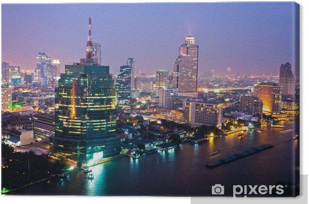 Tableau sur toile Bangkok Skyline, Thaïlande .. - Thèmes
