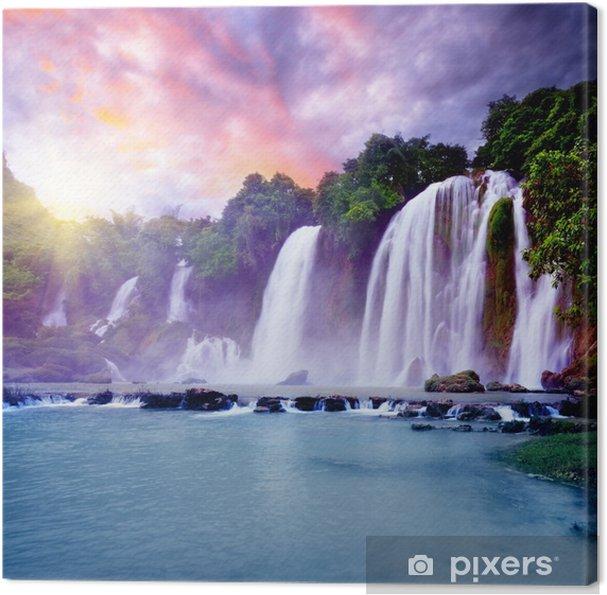 Tableau sur toile Banyue cascade - Thèmes