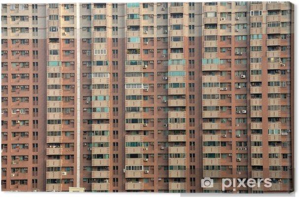 Tableau sur toile Barre d'immeuble - Asie