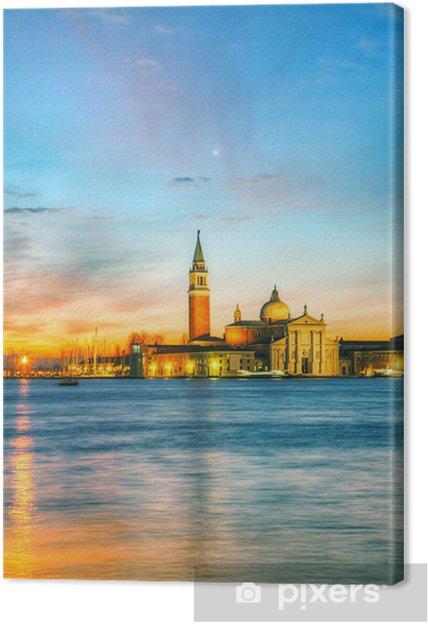 Tableau sur toile Basilica di San Giorgio Maggiore à Venise - Europe