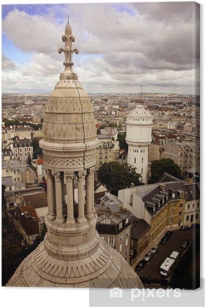 Tableau sur toile Basilique du Sacré Coeur - Villes européennes