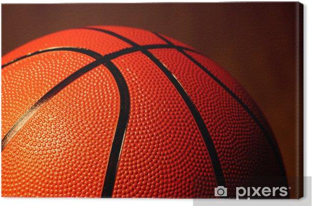 "Tableau sur toile ""basketball - Basket-Ball"