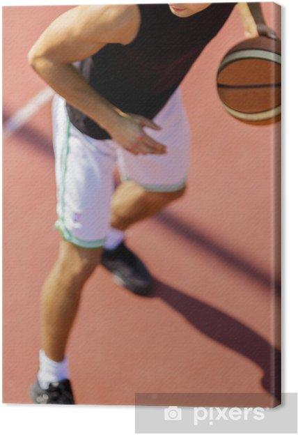 Tableau sur toile Basketteur - Basket-Ball