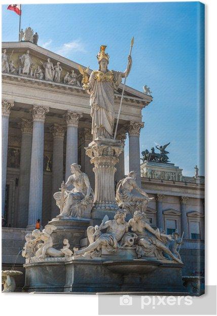 Tableau sur toile Bâtiment du Parlement autrichien, Vienne, Autriche - Europe