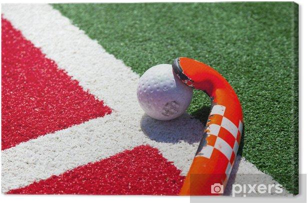 Tableau sur toile Bâton de hockey sur le terrain - Sports d'extérieur