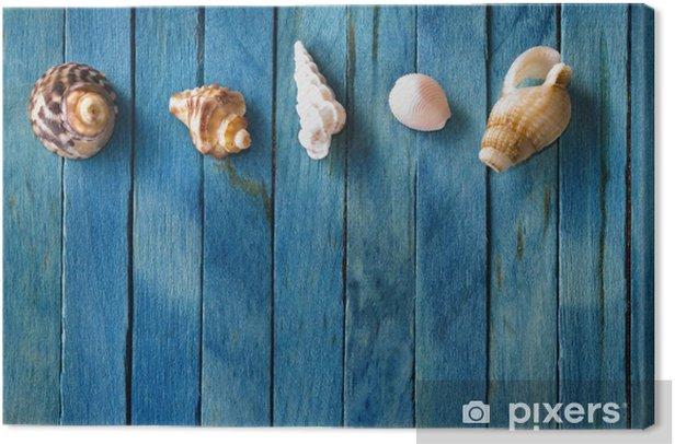 Tableau sur toile Beach Background - Saisons