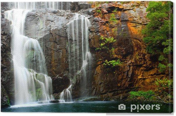 Tableau sur toile Beauté cascade - Vacances