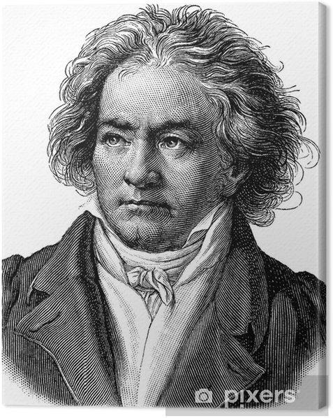 Tableau sur toile Beethoven - Hommes