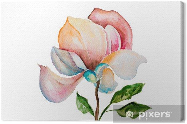 Tableau sur toile Belles fleurs - Fleurs