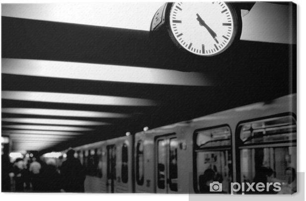 Tableau sur toile Berlin metro - Berlin