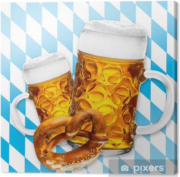 Tableau sur toile Bier - Alcool