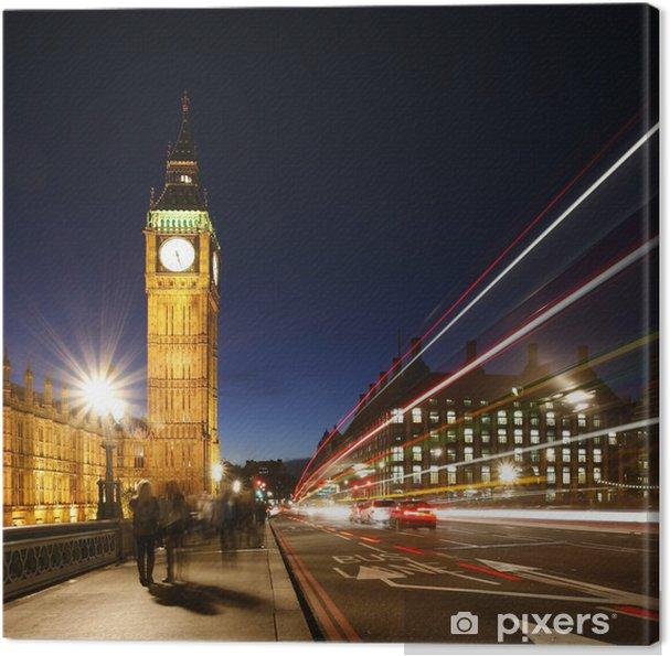 Tableau sur toile Big Ben, le Palais de Westminster - Thèmes