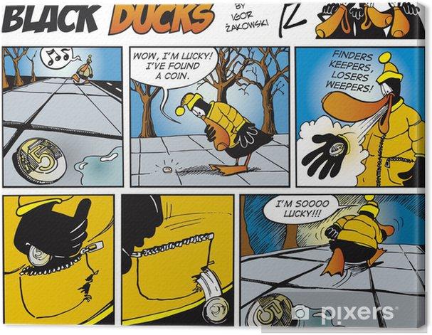 Tableau sur toile Black Ducks Comics episode 71 - Oiseaux