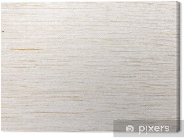 Tableau sur toile Blanchie (blanc) texture en bois de chêne - Textures