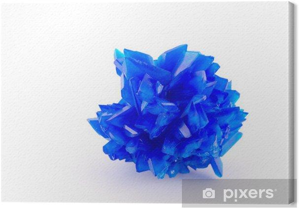 Tableau sur toile Bleu vitriol - Mode
