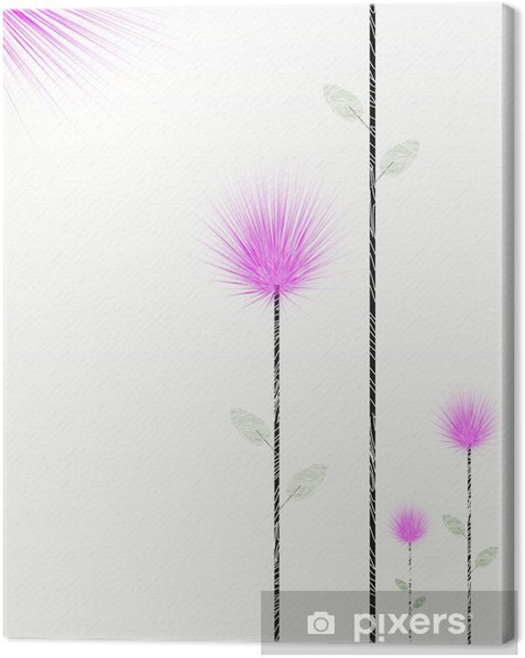 Tableau sur toile Bloom s'épanouir - Arrière plans
