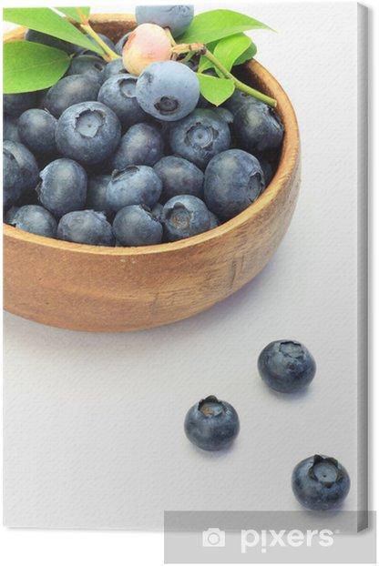 Tableau sur toile Blueberry - Fruits