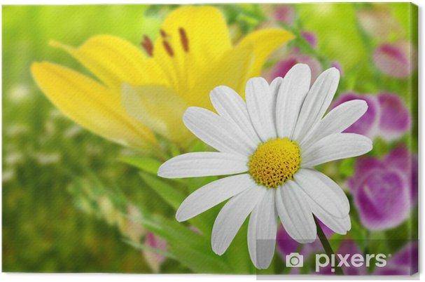 Tableau sur toile Blumen 185 - Saisons