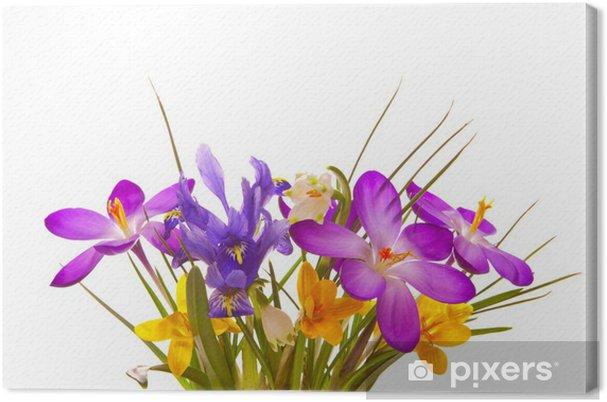 Tableau sur toile Blumenstrauss - Célébrations